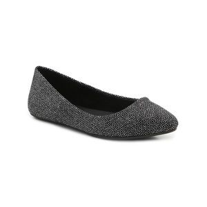 Kelly & Katie Black Sparkle Pirassa Flat 9